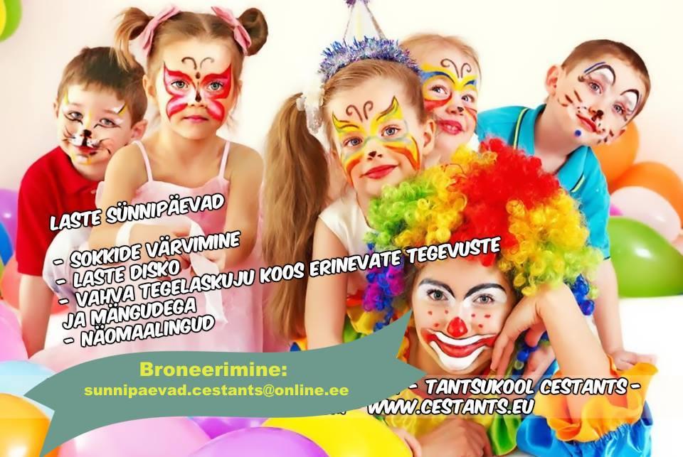 Sünnipäev Cestants tantsukoolis